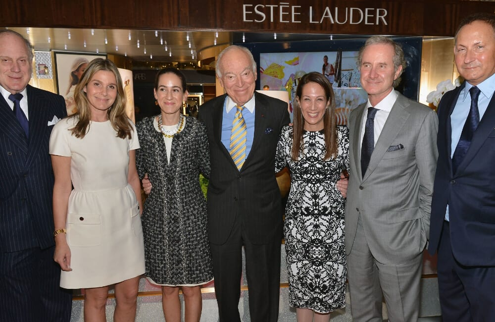 Lauder Family ©Slaven Vlasic/Getty Images for Estee Lauder
